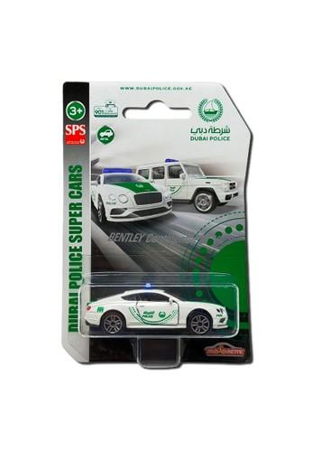 Majorette white and green Majorette Dubai Police Supercars - Bentley Continental GT V8 453E2TH1F310CDGS_1