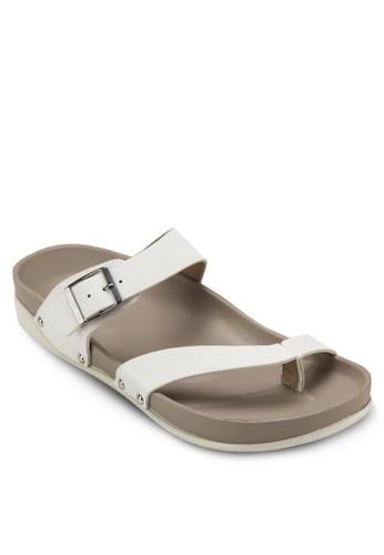 雙寬帶夾腳zalora 台灣門市涼鞋, 女鞋, 涼鞋