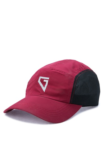 Gametime red Trail Aerobill Cap GA593AC0K81PPH_1