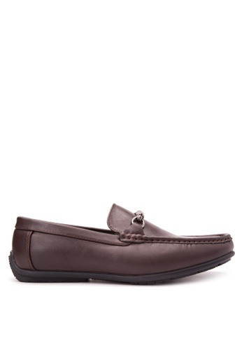 Wade brown Smart Casual Loafers WA436SH81JXYPH_1