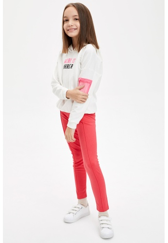 DeFacto red Girl Knitted Bottom Leggings 9480CKA44A39F8GS_1