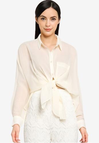 LOWRYS FARM white Long Sleeve Shirt 6F3EFAA2E2BBBBGS_1
