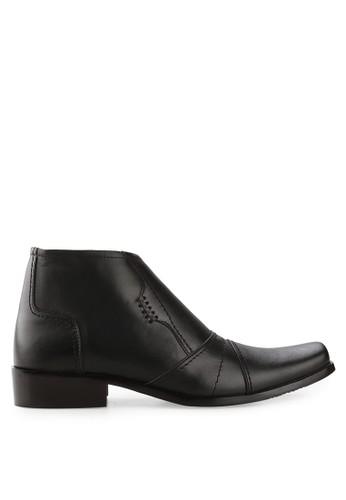 Cavallero black Fabiano Formal Shoes CA263SH15HXGID_1