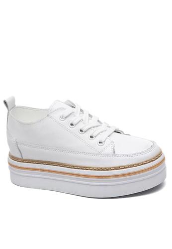 Twenty Eight Shoes white Top Layer Calf Platform Shoes VC8882 EDD8BSH8508CBBGS_1