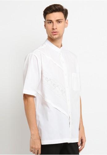 Arafah white Baju Koko 18 30FFAAA2C97CE2GS_1