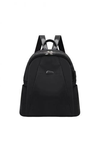 Lucky JX black Ily Korean Mini Backpack 37ACDAC179C6ACGS_1