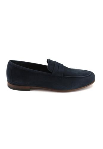 Bata Bata Men Dress Shoes - Blue 8369395 B7977SHABB3D94GS_1