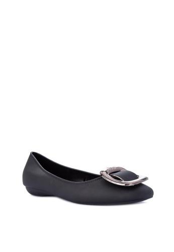 Reva black Ysabelle Ballet Flats 3FCB5SH5DFCB68GS_1