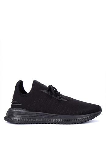Puma black Tsugi 90 Evoknit/Tsugi Mi Evoknit Training Shoes 4ACBBSH50EA91AGS_1