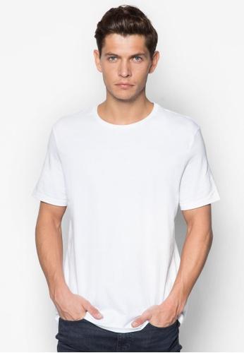 Topman 白色 White Slim Fit T-Shirt TO250AA24IVBSG_1