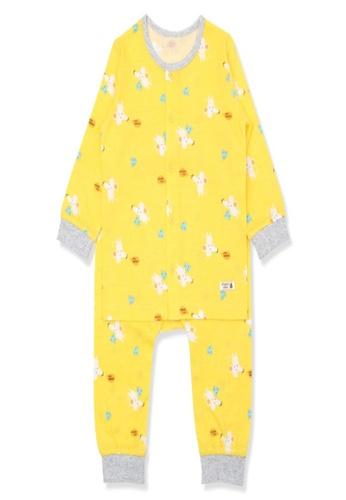 Organic mom yellow Organic Cotton Danny Mouse Lightweight Long Sleeves Pjs 6EAF5KA6518B4AGS_1