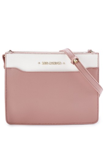 Les Catino pink Harbour Crossbody 8FC2EACF58C340GS_1