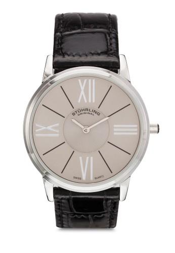 Ascot Solei 纖薄皮革圓錶, zalora 手錶 評價錶類, 飾品配件