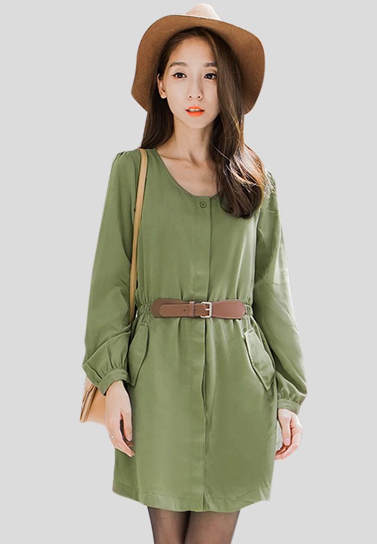 Modest city girl dress