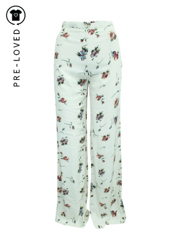 Reformation multi Pre-Loved reformation Wide Legs Floral Print Cream Pants B8238AA0C078D1GS_1