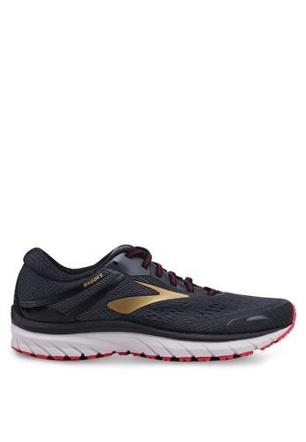 Brooks black Adrenaline GTS 18 Wide Shoes 082C0SH1501B80GS_1