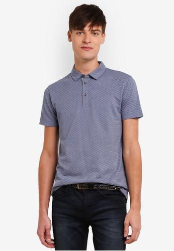 Boss Orange blue and navy Perfect Polo Shirt BO434AA0S35XMY_1