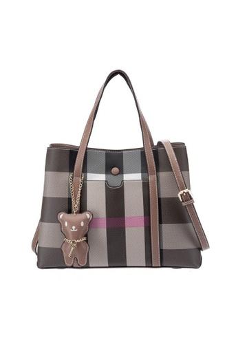 dcdc65e658 British Polo brown British Polo Bean Bear Tote & Sling Bag  CC003AC5B22878GS_1
