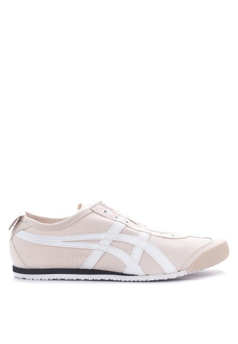 Onitsuka Tiger beige Mexico 66 Slip-On Sneakers ON625SH23TIEPH_1