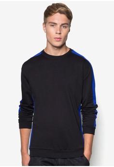Mesh Contouring Sweatshirt