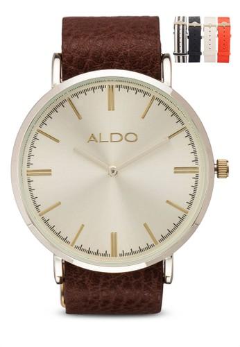 Chaesprit outletrnas 皮革圓錶, 錶類, 女裝手錶