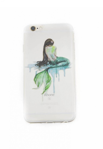 Fancy Cellphone Cases multi Mermaid Soft Transparent Case for iPhone 6/6s FA644AC50YCZPH_1