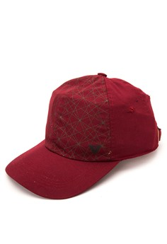 Print Stripe Cap