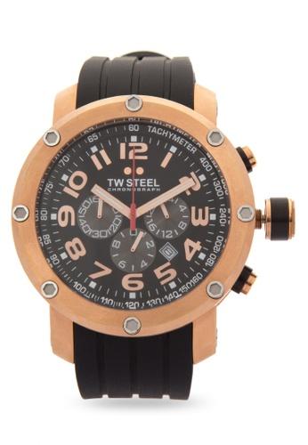 TW Steel black TW131 Grandeur Tech Analog Watch TW310AC0KMC4PH_1