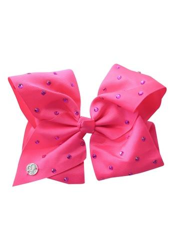 Jojo Siwa pink Jojo Siwa Bow With Clip (Pink Rhinestone) 4AB5BKC7EB4AD6GS_1