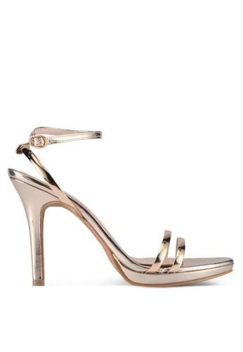 Bata gold Bata Strappy Heels 815DFSHF8A8FA5GS_1