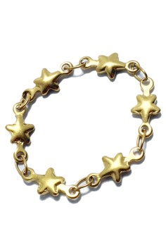 Stainless Steel Tiny Star Soft Chain Ring
