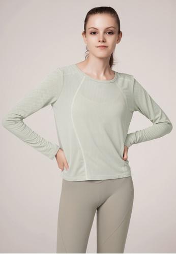 HAPPY FRIDAYS Women's Yoga Long Sleeve Tees DSG190704 97AE9AADEA1BE5GS_1