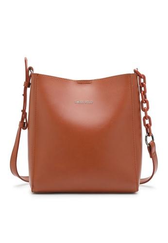 Swiss Polo orange Mall Sling Bag 47EA2AC4684560GS_1