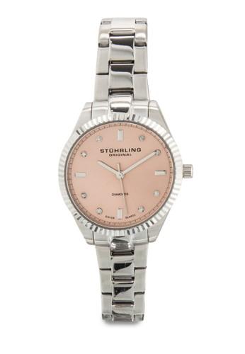 Stuhrling Original 607L.0esprit門市地址2 Symphony Allure 鑽石細鍊錶 , 錶類, 飾品配件