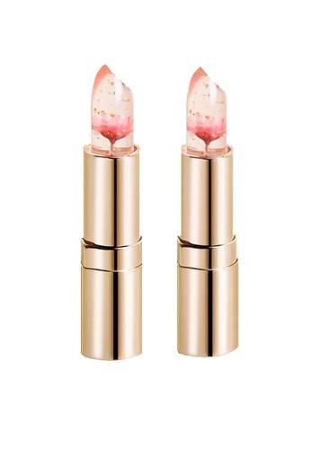 Kailijumei pink Limited Edition - Barbie Doll Pink Lipstick Duo Set KA452BE15QNOMY_1