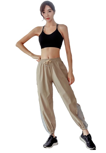 YG Fitness multi (2PCS) Quick-Drying Running Fitness Yoga Dance Suit (Bra+Bottoms) 6D2C3USC9B59C8GS_1