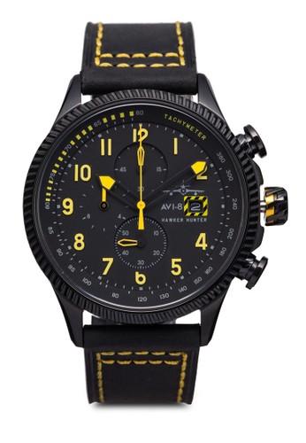 Hawker Hunteresprit outlet尖沙咀 皮革腕錶, 錶類, 計時型