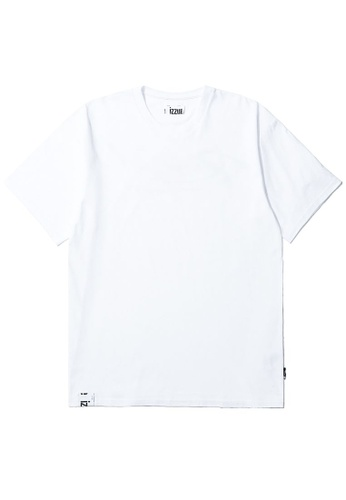 izzue white Reserved tee F48CBAA7887A3EGS_1