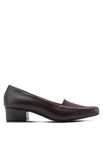 Alfio Raldo brown Low Court Heels AL803SH33HFIMY_1