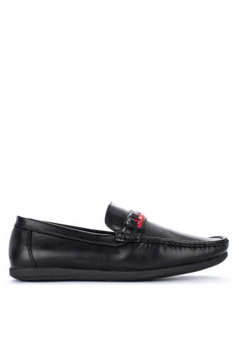 H2Ocean black Neftali Casual Loafers 929AFSH10E756CGS_1