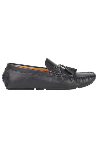 Tomaz blue Tomaz C004B Buckled Tassel Loafers (Navy) 930DBSH46A70C1GS_1