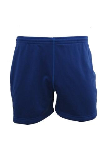 AMNIG AMNIG Rugby Player Shorts (True Blue) AM133AA98JLLMY_1