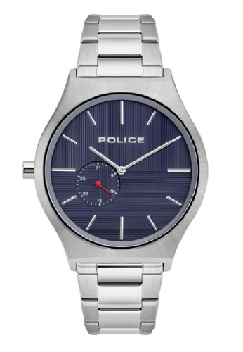 Police blue and silver Jam Tangan Pria Rantai Police PL.15965JS03M Original A1120AC7EF5FD9GS_1