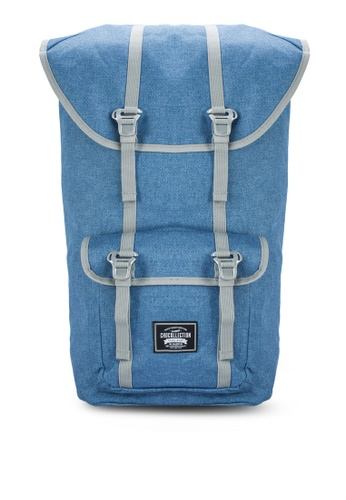 Chocollection blue York All Day Backpack CH825AC25GTQHK_1