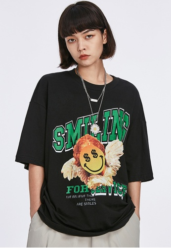 Twenty Eight Shoes Trend Printed Short T-shirt 1294S20 40315AAED25494GS_1