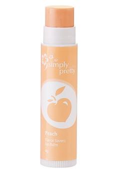 Avon Color Flavor Saver Lip Balm in Peach