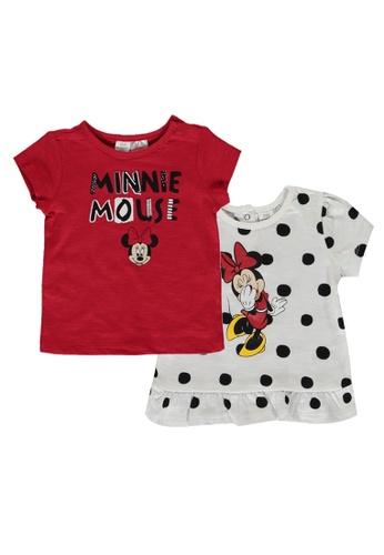 LC Waikiki multi Minnie Mouse T-Shirt Set 2C3B7KAB675C6BGS_1