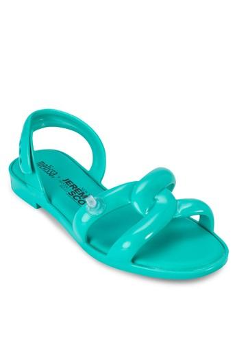 Jeremy Scotesprit 旺角t Ad 充氣管多帶涼鞋, 女鞋, 鞋
