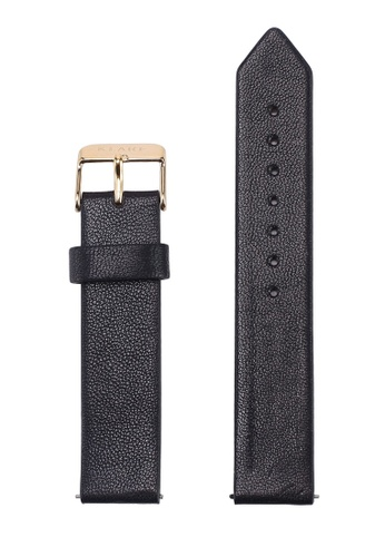 Klarf black Classic Leather Strap F0777ACF2476B1GS_1