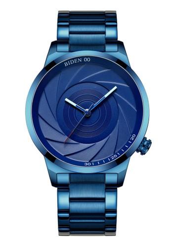 Biden Watch blue Jam Pria Biden Jam Analog Casual Tahan Air Strap Stainless Steel D8A13AC0F594DDGS_1